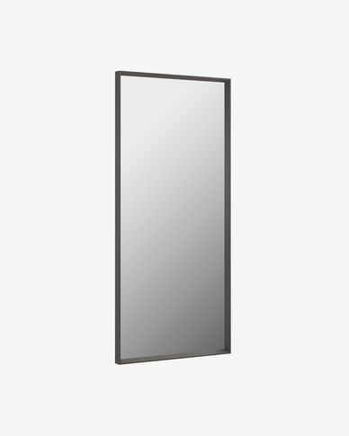 Nerina mirror dark finish  80 x 180 cm