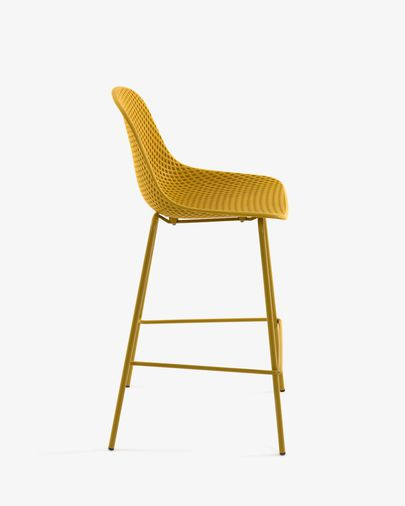 Yellow Quinby stool height 75 cm