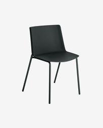 Hannia black chair