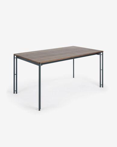 Tischplatte 160x90 Nussbaum