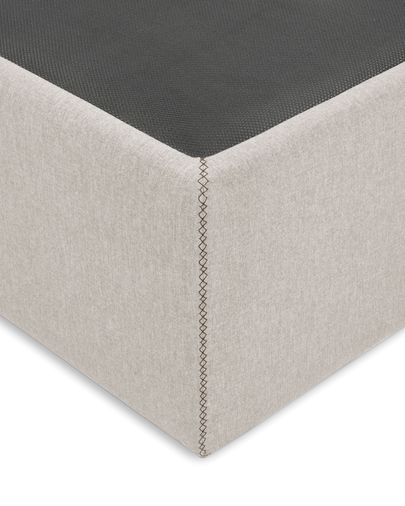 Storage bed base Matters 150 x 190 cm beige