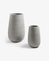 Loa set of 2 planters 67/45 cm