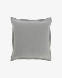 Fodera per cuscino Maelina 60 x 60 cm grigio