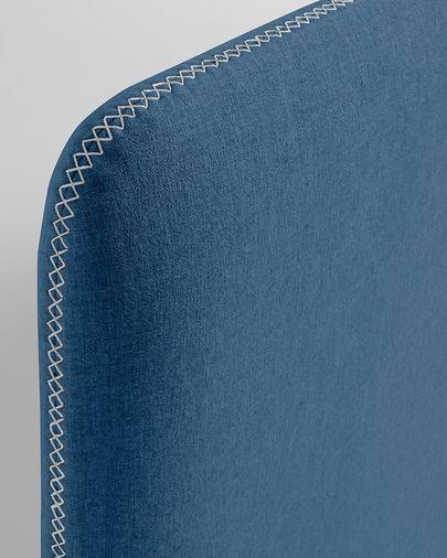 Donkerblauw Dyla matrashoes 90 x 190 cm