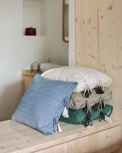 Poszewka na poduszkę Varina 100% bawełna szara 45 x 45 cm