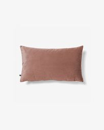 Lita cushion cover 30 x 50 cm pink velvet
