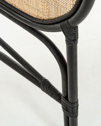 Hoofdbord Lalita 170 x 120 cm zwart