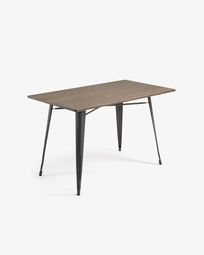 Anthracite Malira table 150 x 80 cm