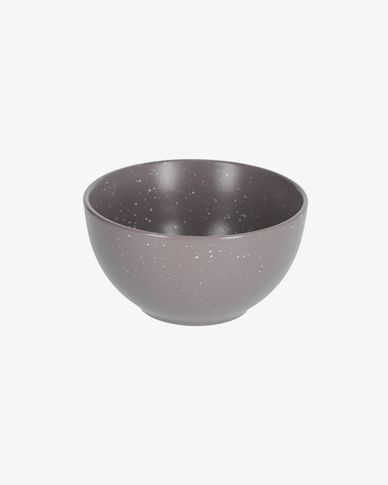 Aratani dark grey bowl