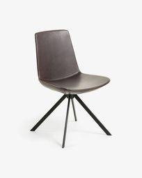 Dark brown Zeva chair