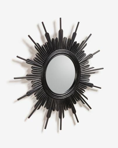 Black Marelli mirror Ø 70 cm