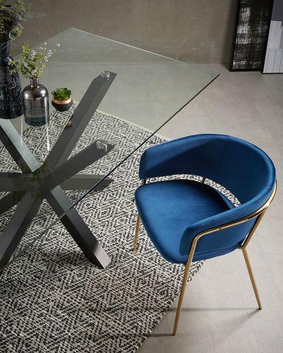 Cadeira Runnie azul