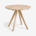 Tavoli rotondi in legno