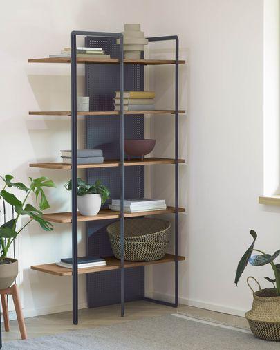 Oak wood Nadyria shelves 100 x 180 cm