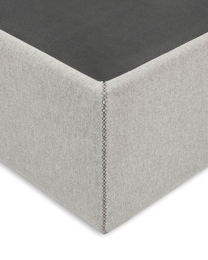 Aufbewahrungs- Bettgestell Matters 140 x 190 cm, grau
