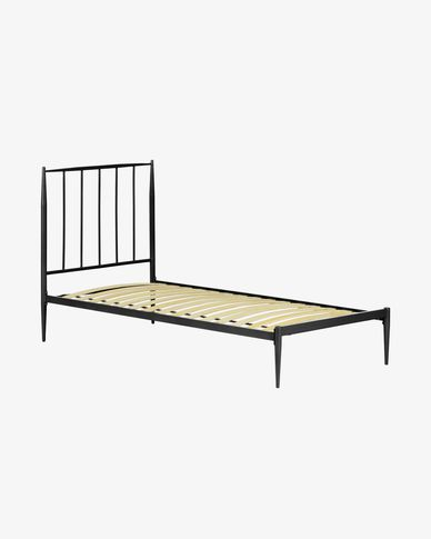 Bed Natacha 90 x 190 cm grafiet