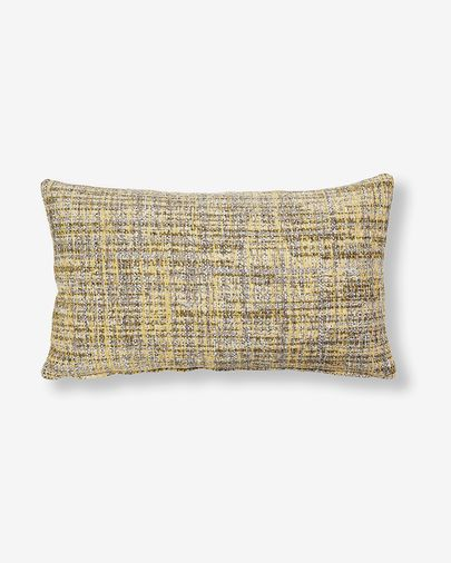 Fodera cuscino Boho 30 x 50 cm senape