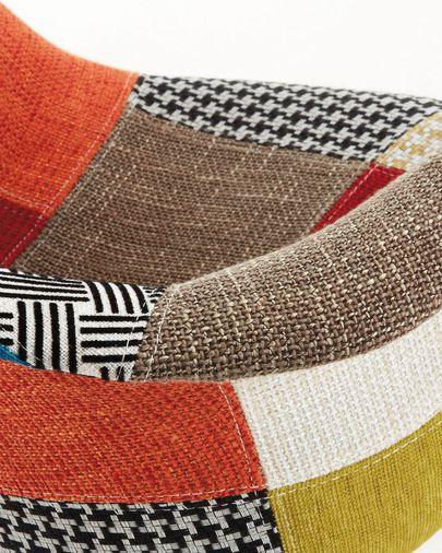 Silla Kevya patchwork multicolor