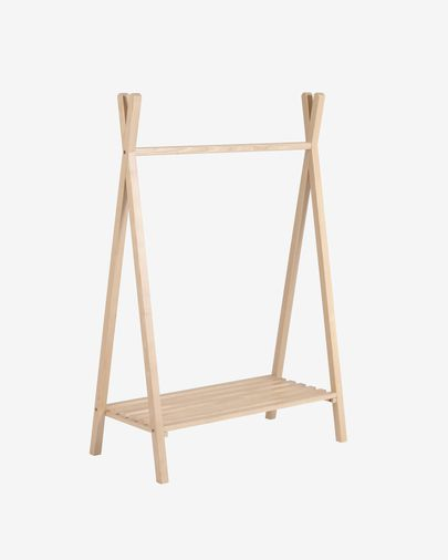Maralis kids teepee clothes rail in ash 148 x 50 cm