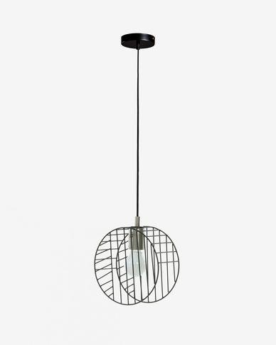 Zwarte plafondlamp Arietta