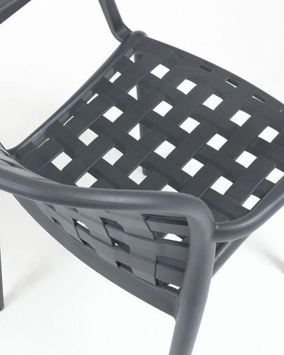 Silla Isa negro