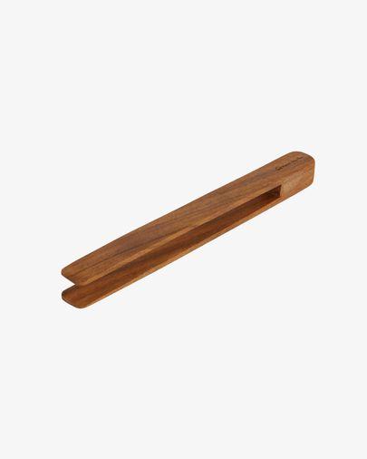 Pinça de servir Yanila de fusta massissa d'acàcia