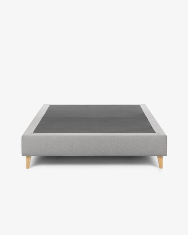 Bed base high Nikos 160 x 200 cm grey