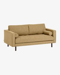 Senfgelbes Debra 2-sitzer Sofa 182 cm