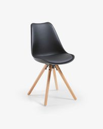 Black and natural Ralf chair