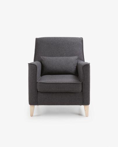 Graphite Glam armchair