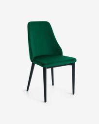 Rosie green velvet chair