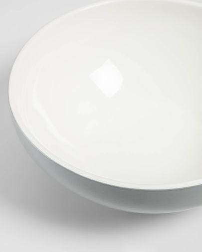 Bol Sadashi gran de porcellana blanc i gris