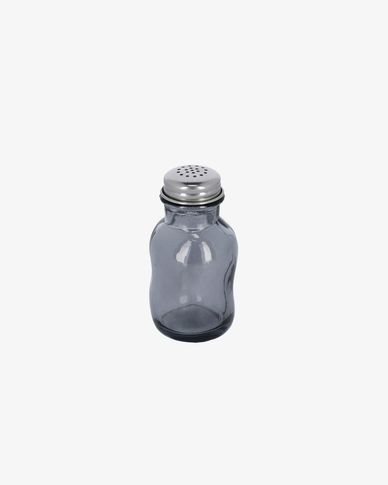 Rohan blue glass salt shaker
