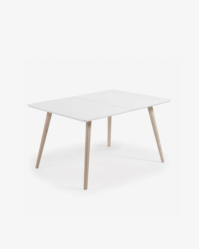 Table extensible Eunice 140 (220) x 90 cm + sac