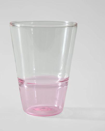 Got Fiorina de vidre rosa i transparent