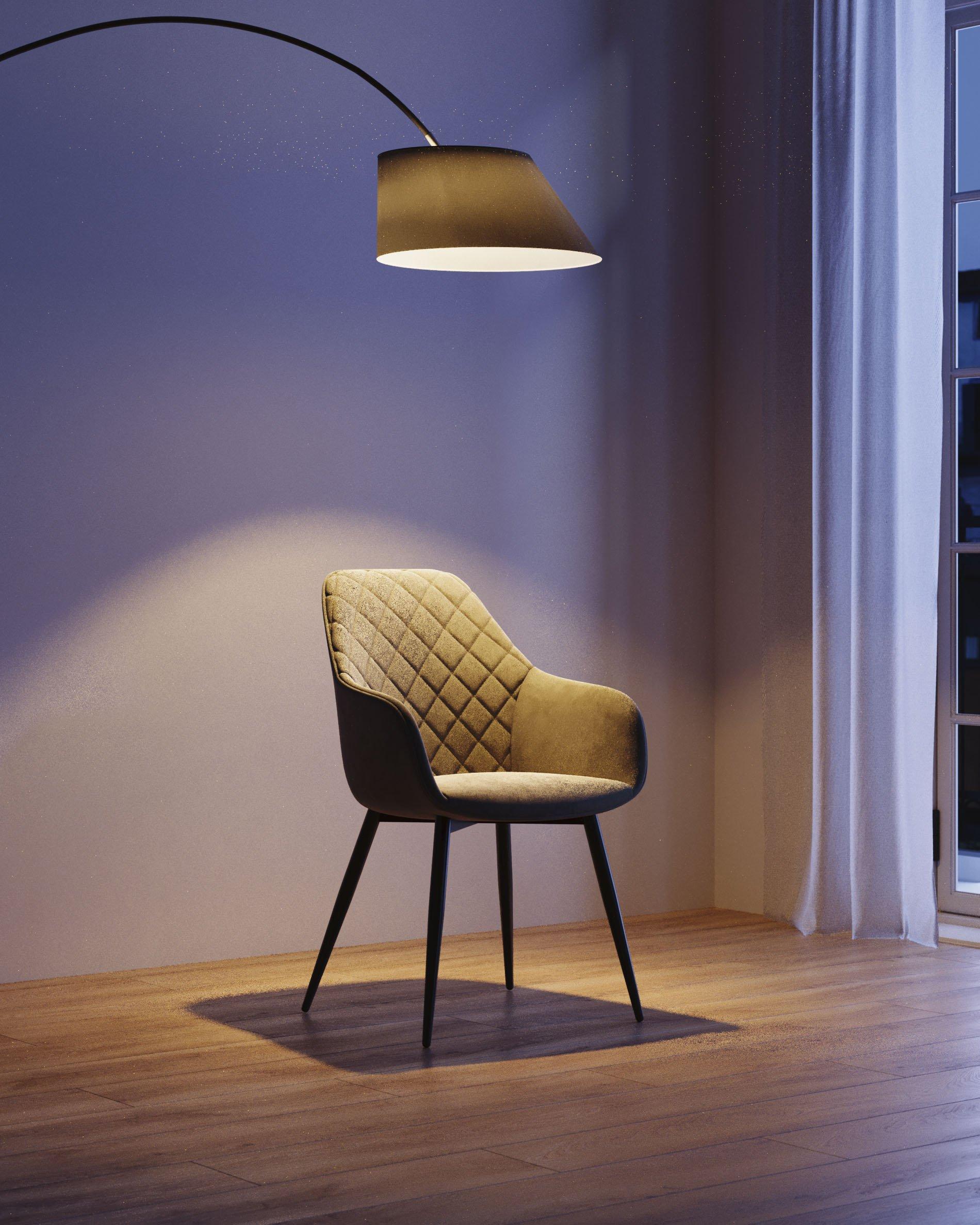 silla-luz-lampara