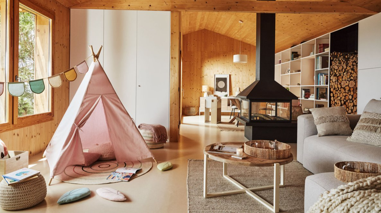 Una casa de fusta? Descobreix The Family woodhouse