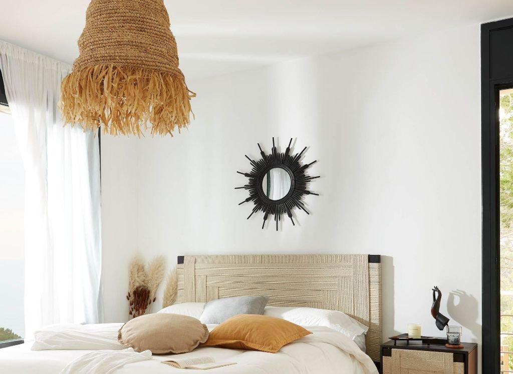 lampara-techo-dormitorio-ratan