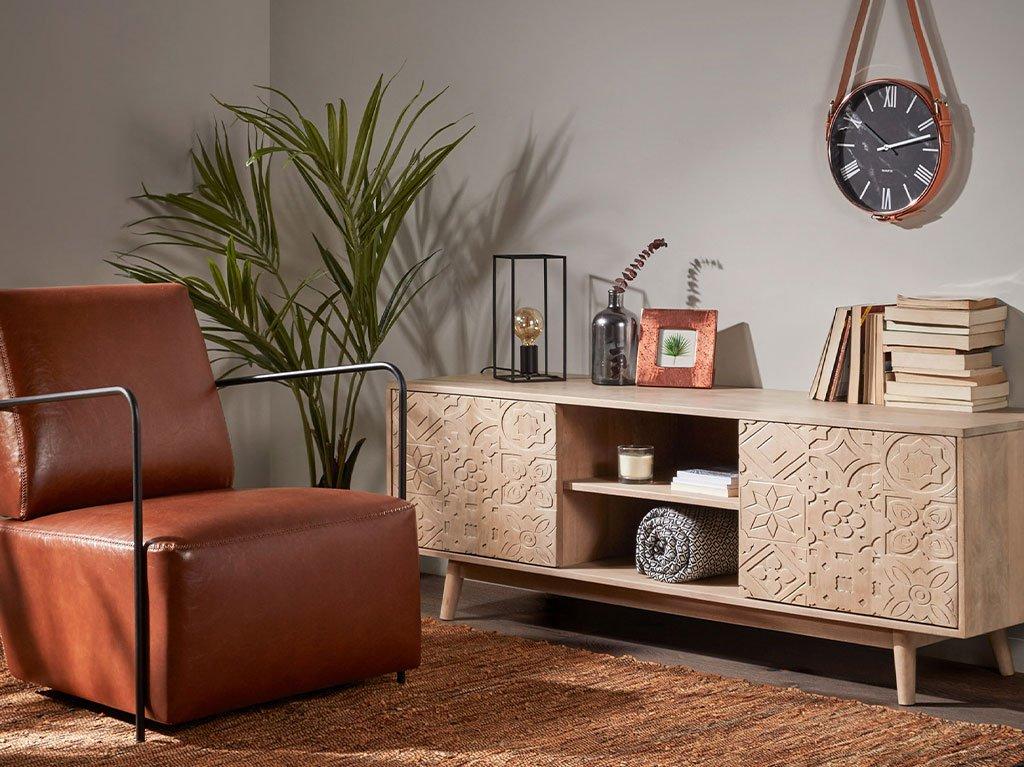 mueble-de-tv-madera-de-mango